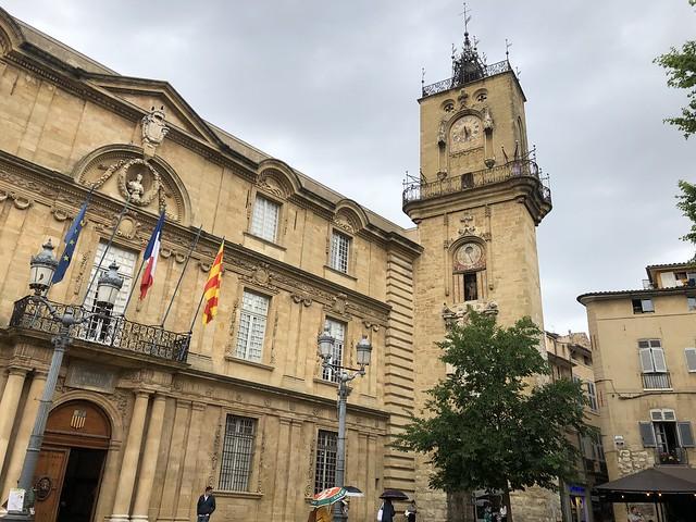 Place de l'Hotel de Ville en Aix-en-Provence