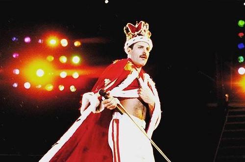 Freddie Mercury, cantante de Queen. Fotografía recuperada de 20 minutos