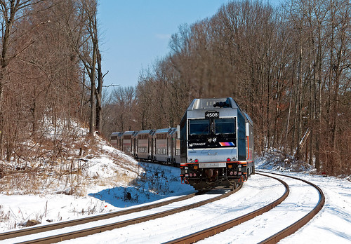 njt njtransit rvl raritanvalleyline annandalenj bombardier alp45dp commuter snow train railfan railroad