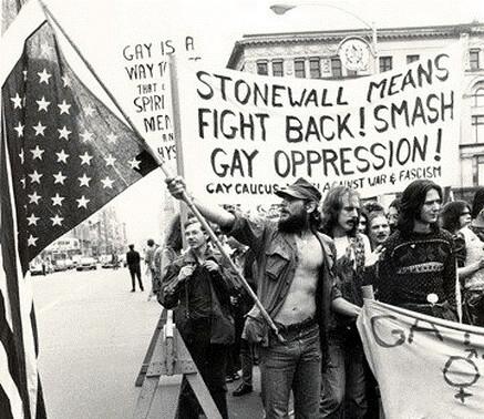 Las protestas de Stonewall comenzaron la lucha del colectivo. Fotografía de Leonard Fink