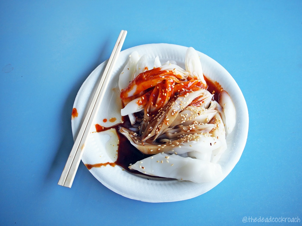 chee cheong fun, chinatown complex, duo ji, food, food review, review, singapore, smith street, 多記馳名豬腸粉, 猪肠粉, 豬腸粉,
