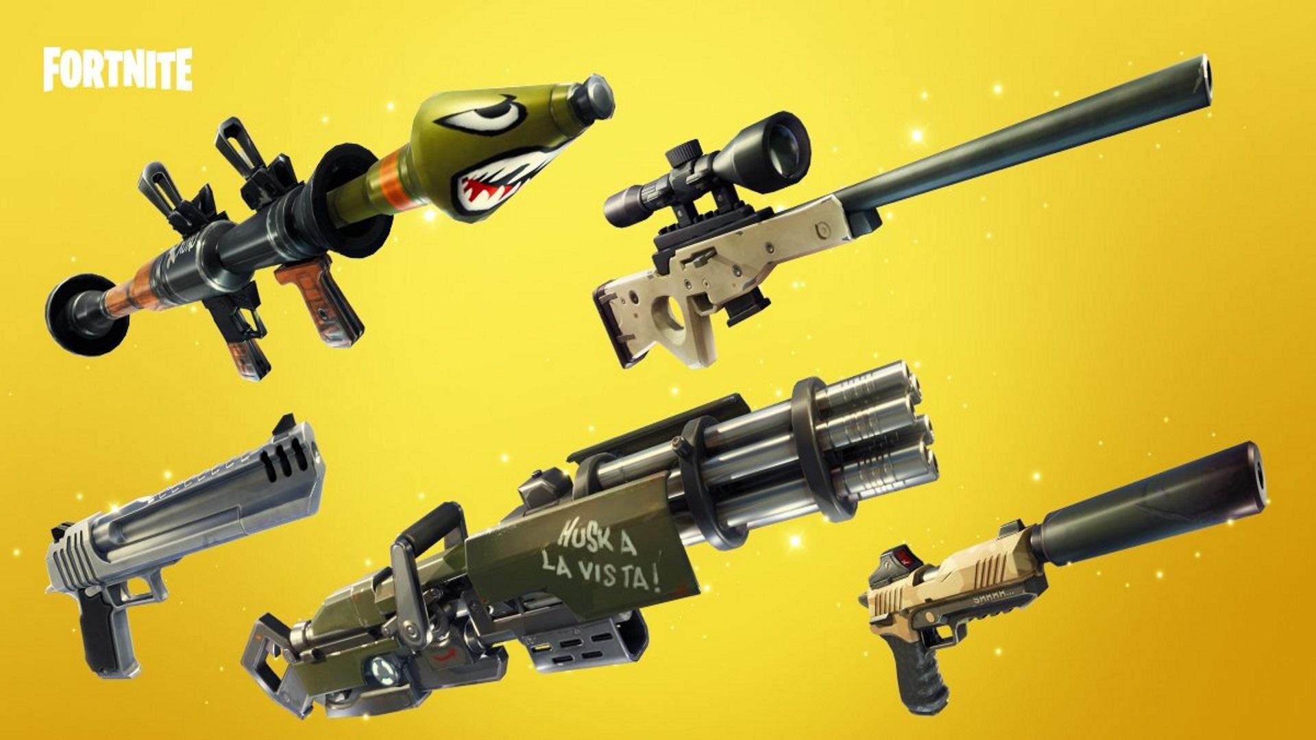 Fortnite Waffenleitfaden Für Teams