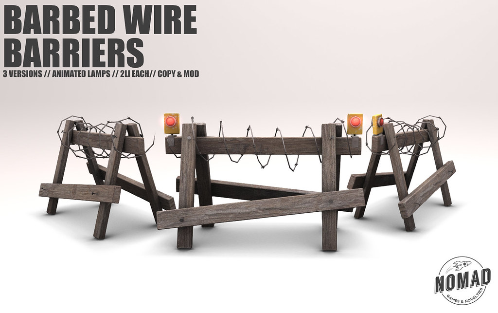 NOMAD // Barbed Wire Barriers @ FLF