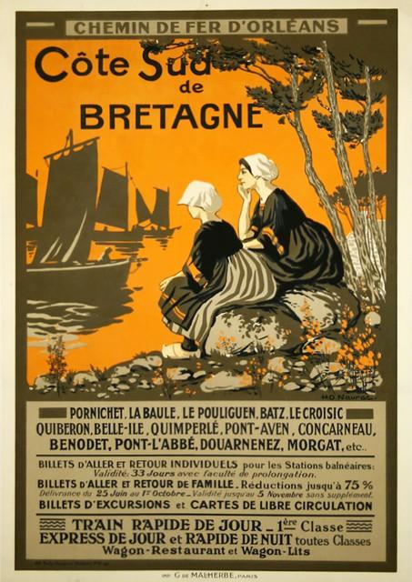 Cote Sud de BRETAGNE