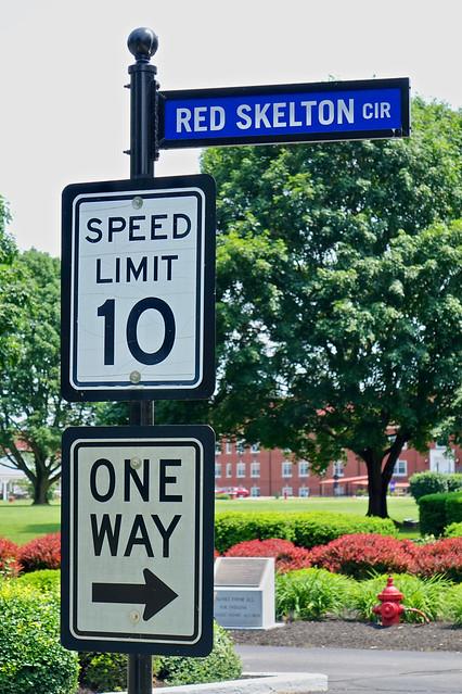 Red Skelton sign