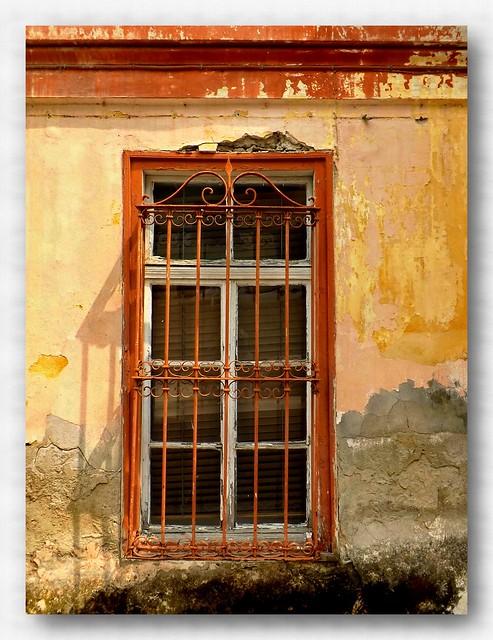 The Window.....Kavala old town.....Thraki....Makedonia...Greece