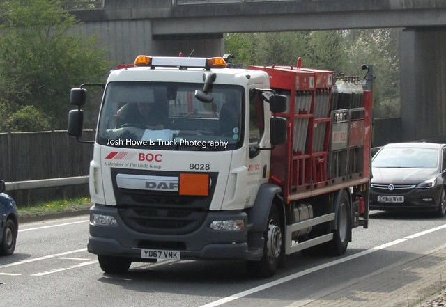 BOC YD67 VMK at Welshpool