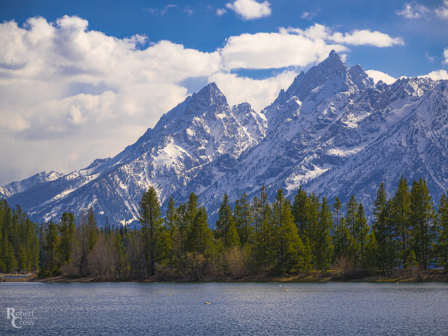 The Tetons Over Jackson Lake
