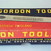 Gordon Tools spanner set, early 1970s.