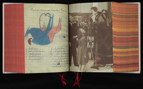 Spread from SHV's thinkbook 1996–1896, 1996. Design: Irma Boom.