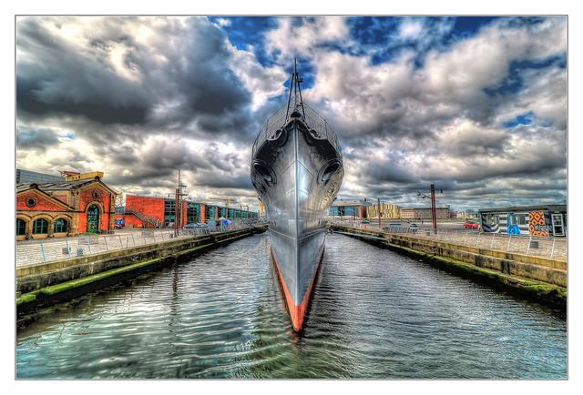 Belfast NIR - HMS Caroline 02