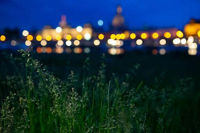 Dresden Skyline.