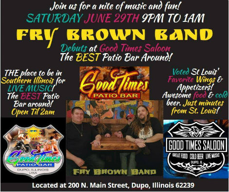 Fry Brown at Good Times 6-29-19