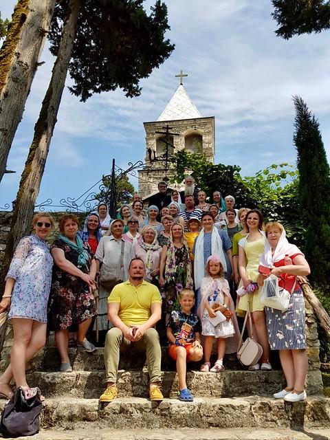 17-25 июня. Паломничество в Абхазию