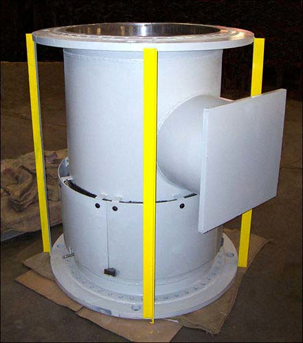 U.S. Bellows Designed and Fabricated Single Tied Metallic Expansion Joints with Two-Ply Alloy Bellows