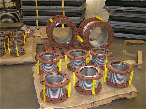 U.S. Bellows, Inc. Designed and Fabricated Flange Expansion Joints for a Thermal Power Plant