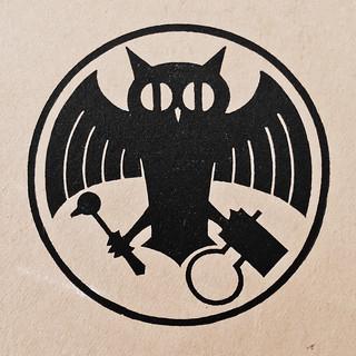 Stempl Bat-Owl