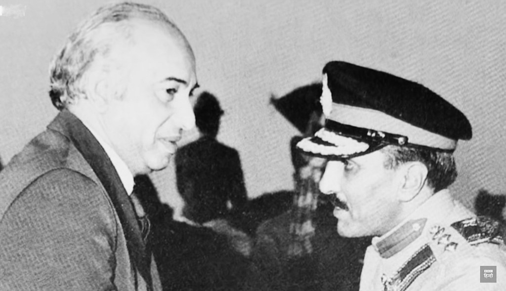 A servile General Ziaul Haq sneaks his way upto power with… | Flickr