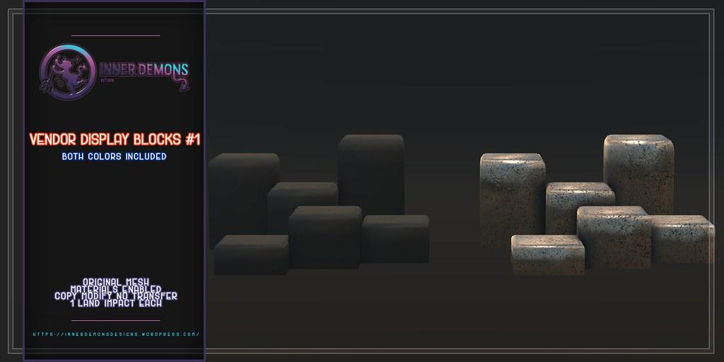 {ID} Vendor Display Blocks #1