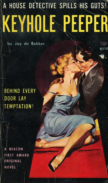 Beacon Books B110 - Jay de Bekker - Keyhole Peeper