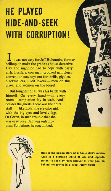 Beacon Books B110 - Jay de Bekker - Keyhole Peeper (back)