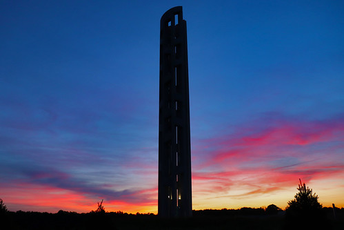 shanksville flight 93 national memorial 91101 911 september 11 2001 never forget somerset county towerofvoices sun sunset colors outside nature scenic scenery landscape laurelhighlands pa pennsylvania georgeneat patriotportraits