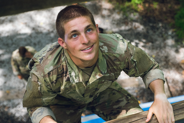 5th Regiment, Advanced Camp completes the Confidence Course