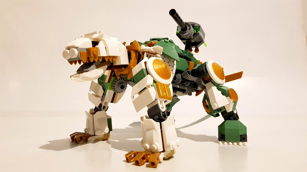 LEGO Lloyd's Zoid (custom built Lego model)