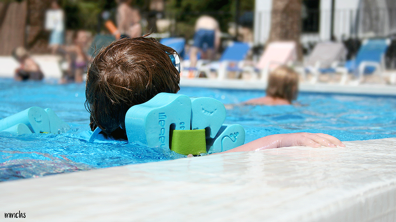 camping L´Orangeraie piscina niños