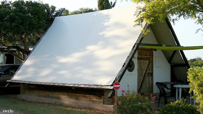 bungalow camping L´Orangeraie Cálig Peñíscola