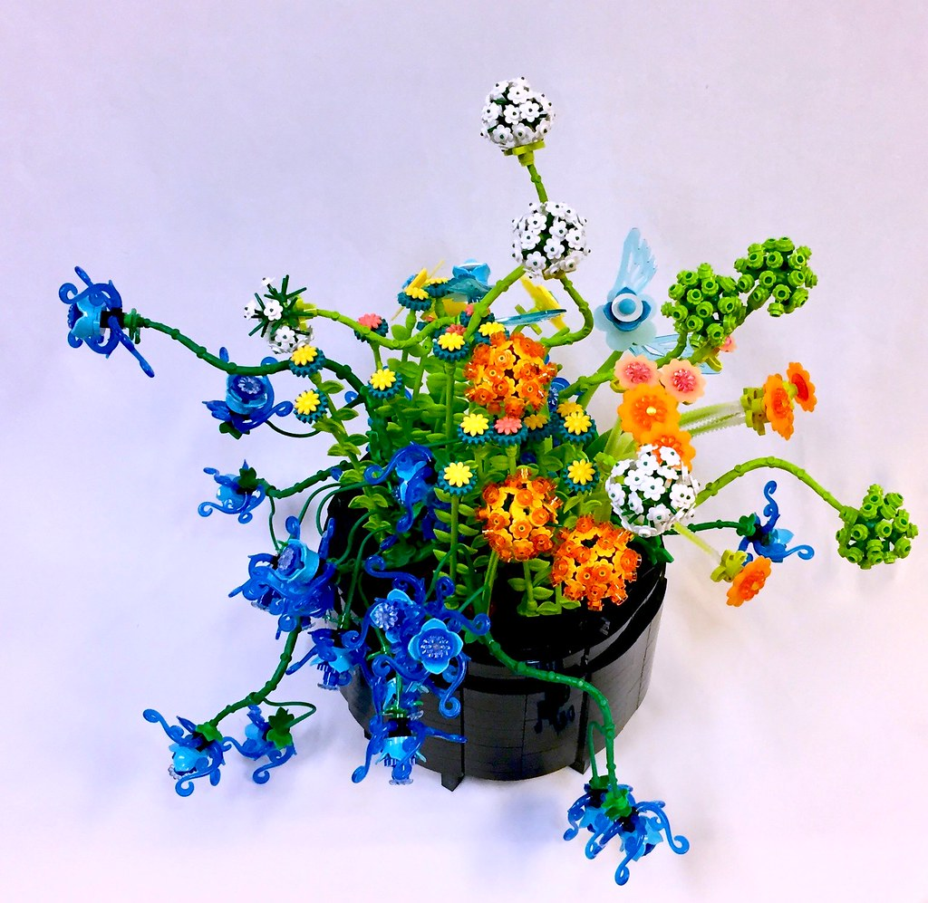 Planter Gone Wild (custom built Lego model)