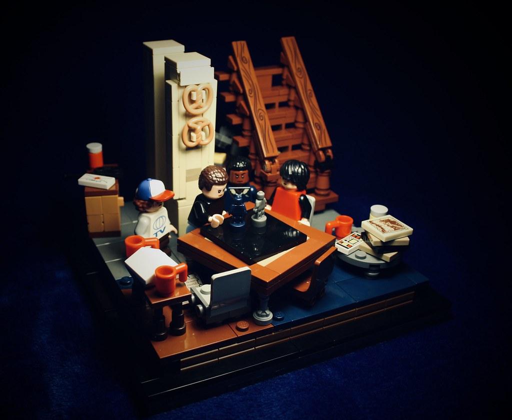 """Hiding"" (custom built Lego model)"