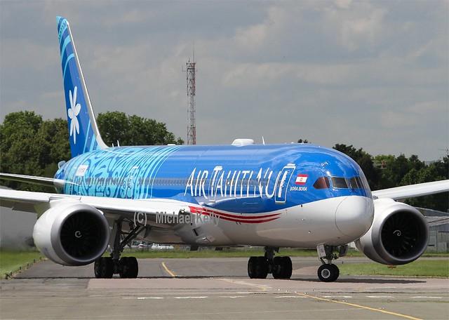 Air Tahiti Nui                                              Boeing 787 Dreamliner                                  N1015X