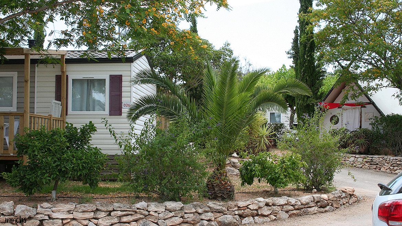 camping L´Orangeraie bungalows