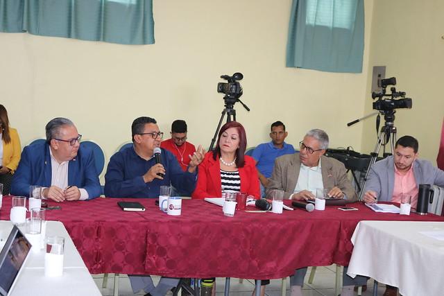 ASJ presenta propuesta de reformas electorales a Partido Liberal