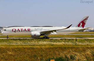 A7-AMK Airbus A350 Qatar