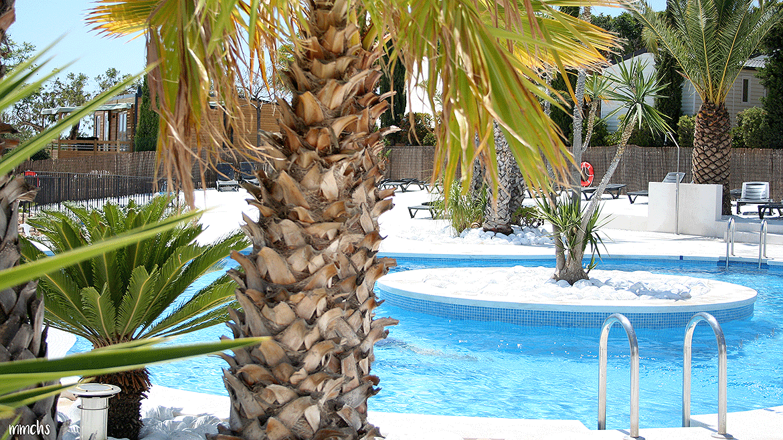 piscina Camping L´Orangeraie Cálig Peñíscola