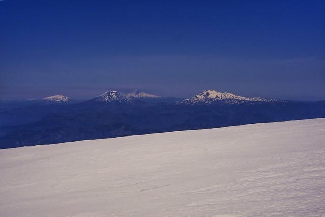 Vista cumbre Volcán Callaqui