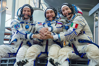 Expedition 60 crewmembers during the final day of their qualification exams | by NASA Johnson