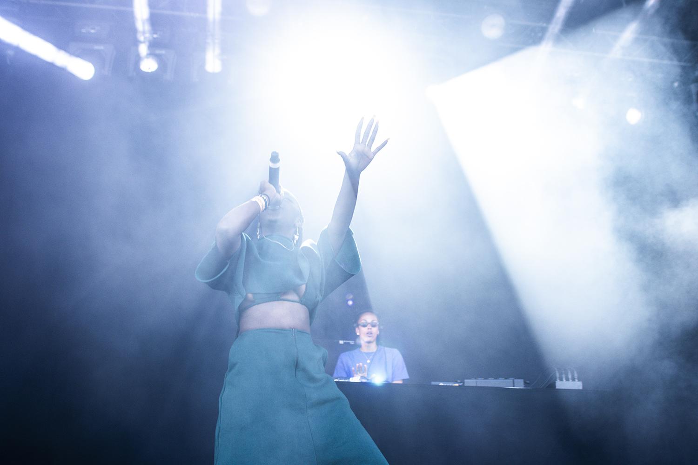 Miss Angel @ Rock Werchter 2019 (© Joren Van Utterbeeck)