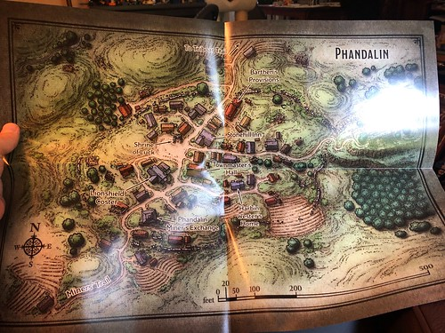 D&D Essentials Kit 14 - Map Phandalin | by mikepirnat
