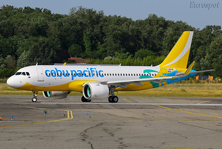 F-WWBP Airbus A320 Neo Cabu Pacific
