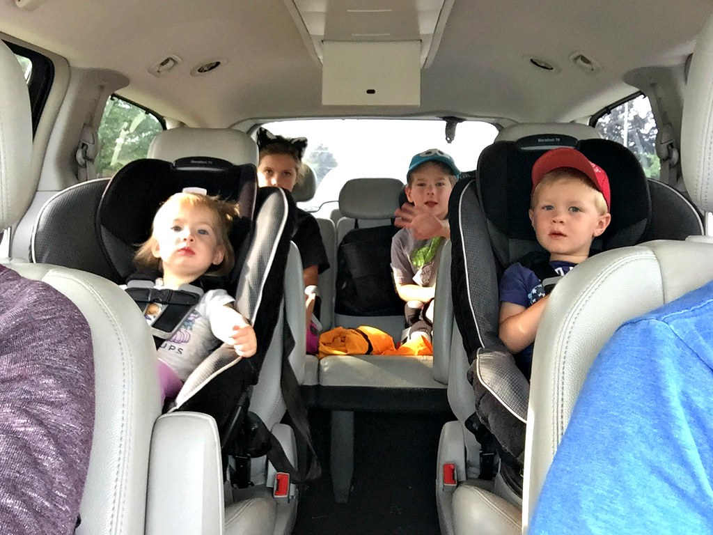 road trip with 4 kiddos