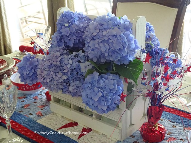 Patriotic Tablescape 2019 at FromMyCarolinaHome.com