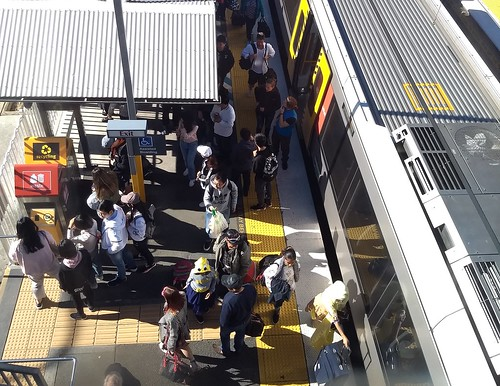 Brisbane: Park Road railway station during bustitution