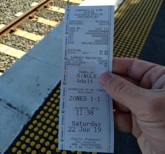Brisbane: Single use ticket