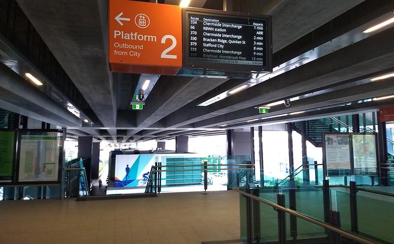 Brisbane: RBWH busway station