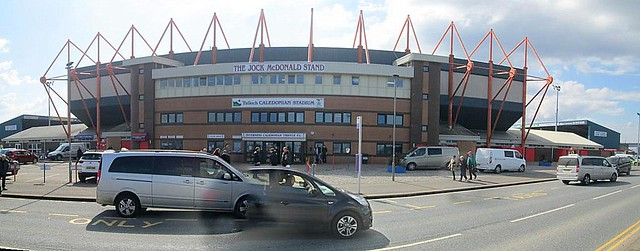 Caledonian Stadium, Inverness, Main Stand