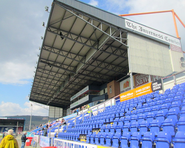 Caledonian Stadium, Inverness, Main Stand Seating