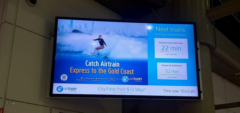 Brisbane: Air train only every 30 minutes